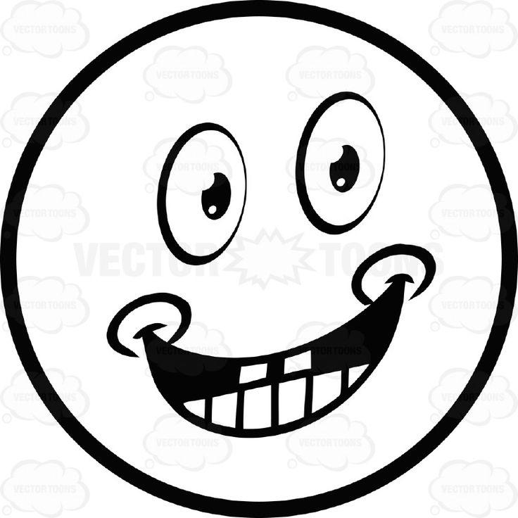 736x736 Drawn Adorable Smiley Face