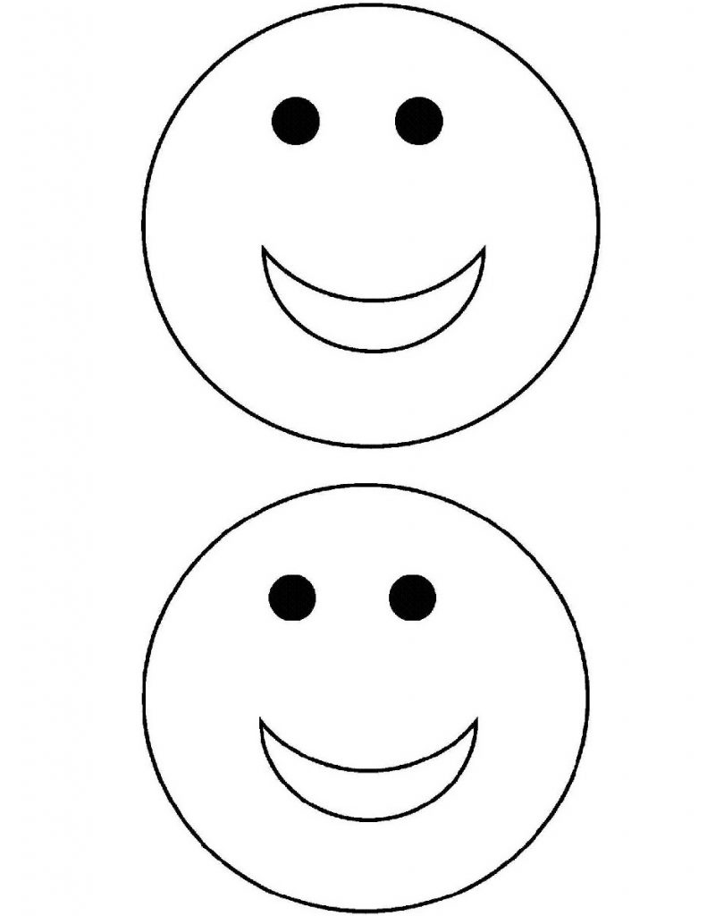 791x1024 Free Printable Smiley Happy Face Coloring Pages For Kids In Cute