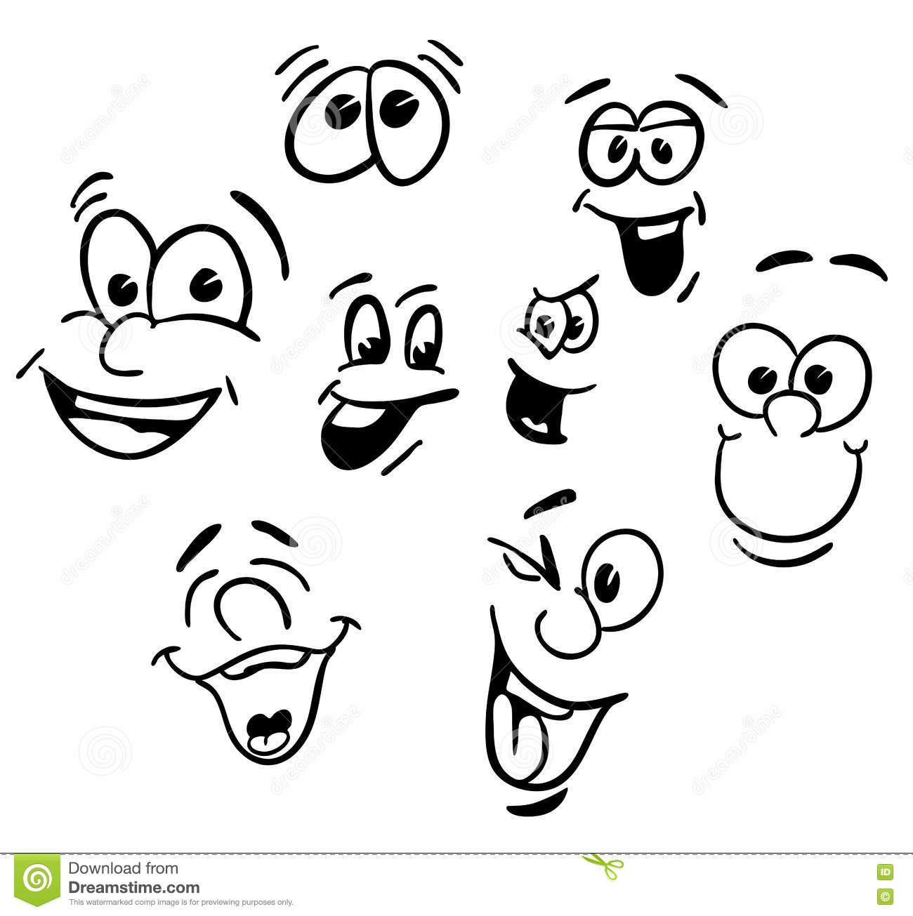 1300x1305 Gallery Happy Cartoon Faces,