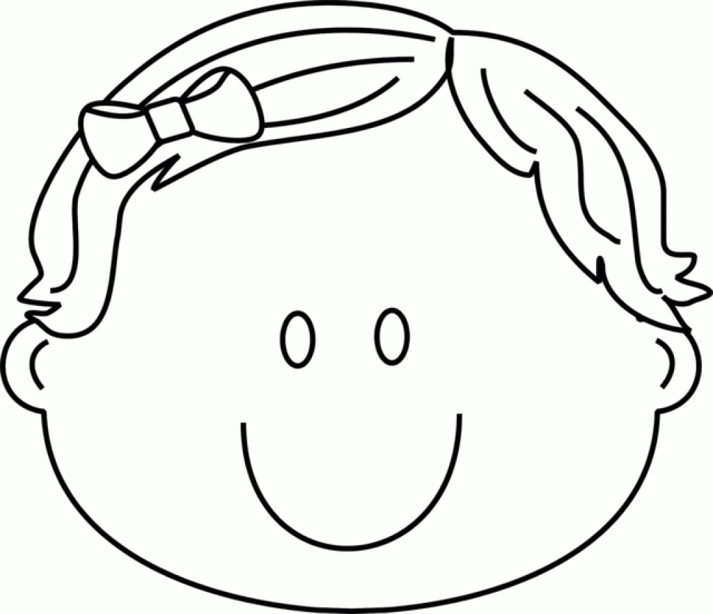 1024x883 Happy Face Coloring Page