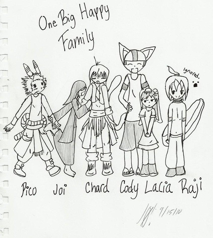 845x946e Big Happy Family By Mmjoixlink