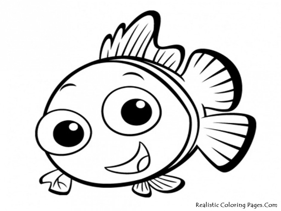 940x705 Fish Outline Drawing Many Interesting Cliparts