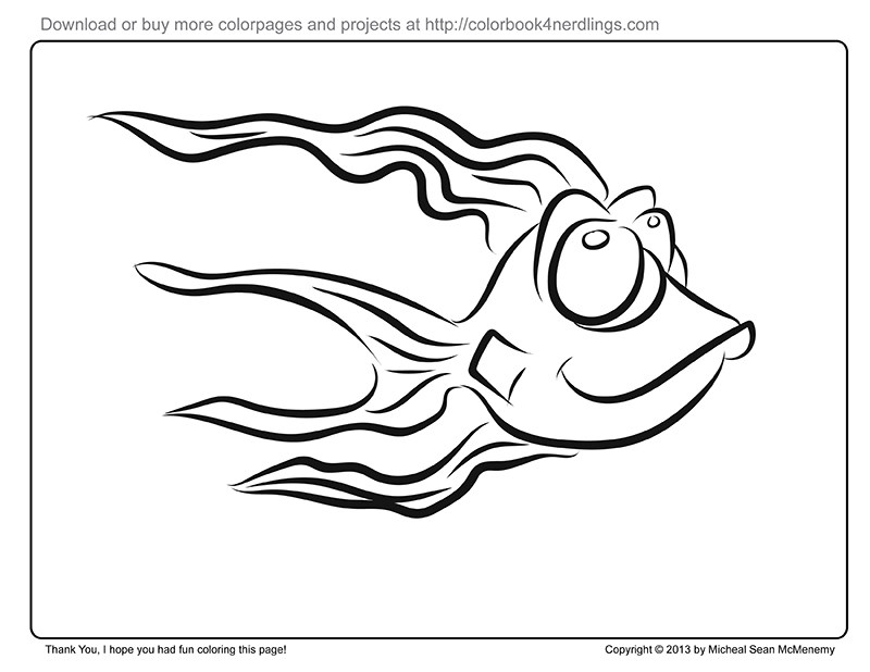 800x618 Free coloring page, printable Colorbook 4 Nerdlings