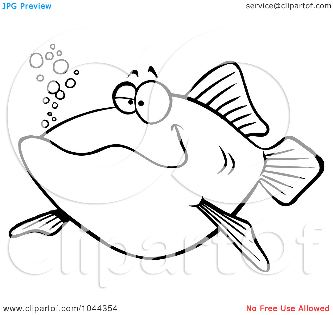 1080x1024 Happy Fish Black Clipart