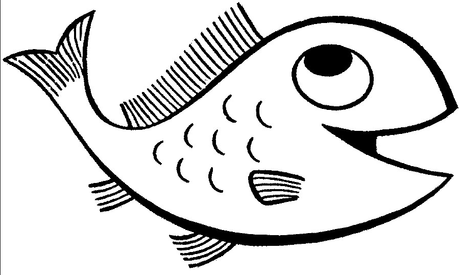 899x538 Happy Fish Coloring Page amp Coloring Book