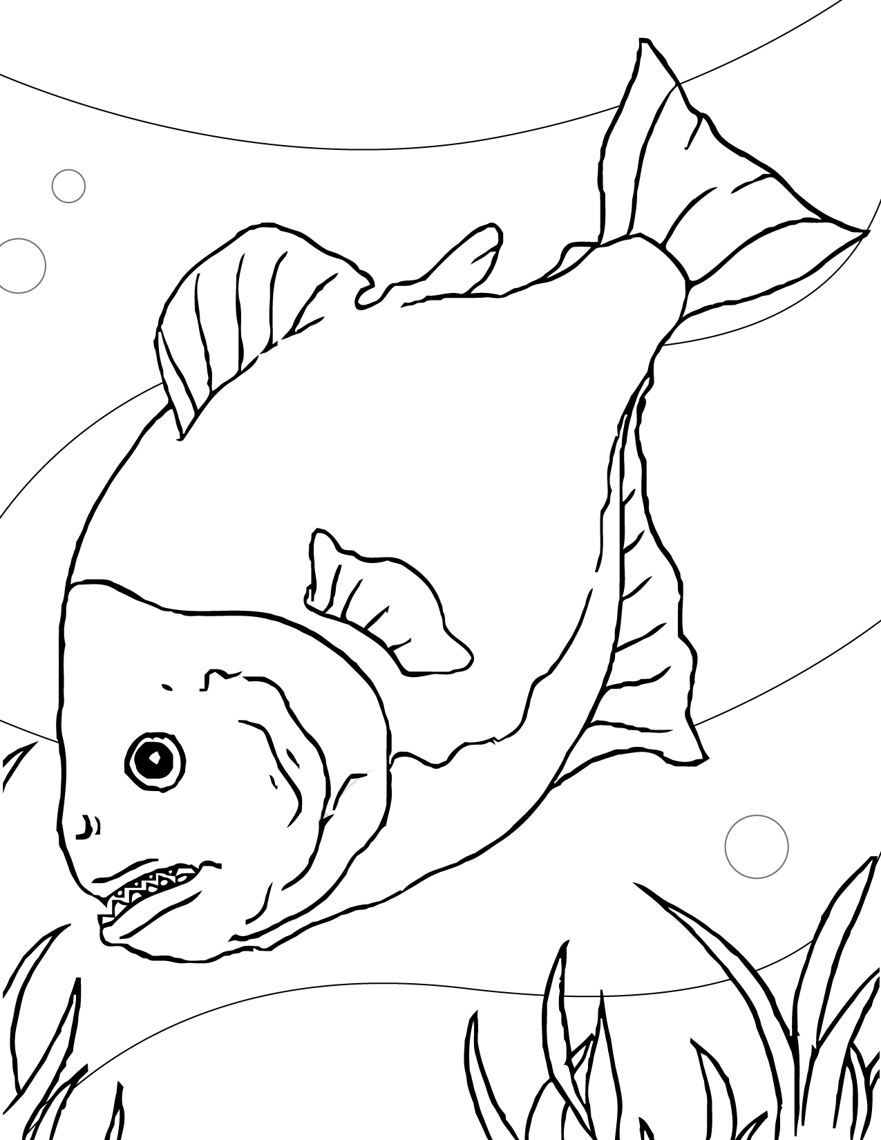 1275x1650 Happy Fish Patterns To Color 18