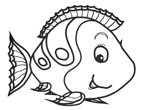 500x382 Outlines Of Fish