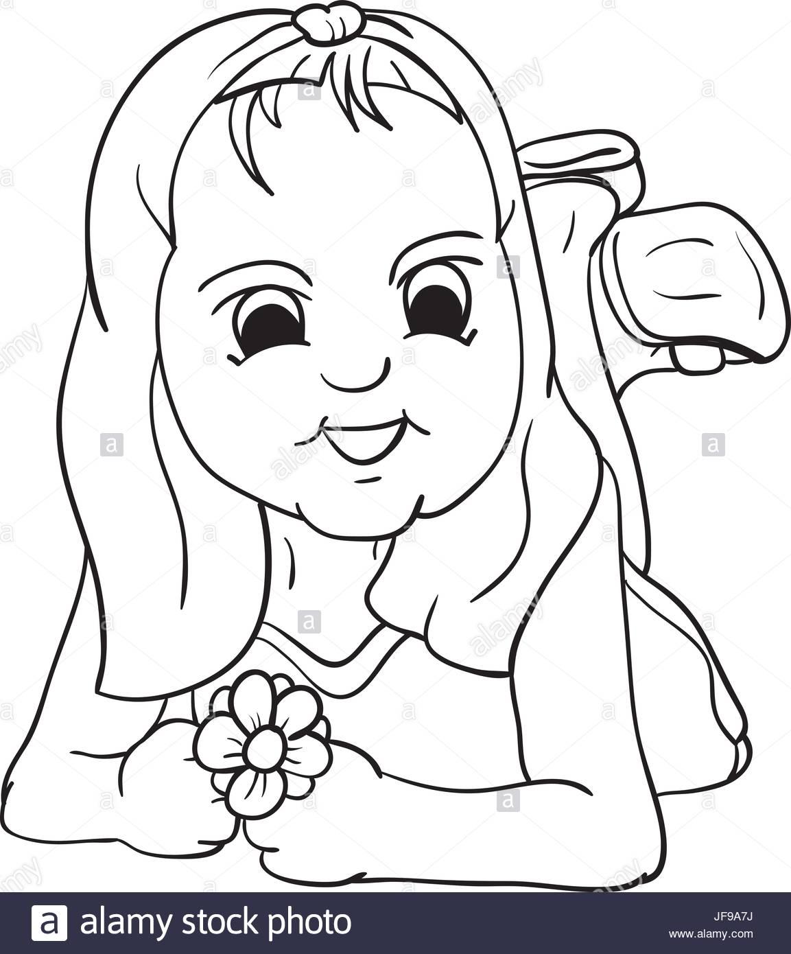 1153x1390 Happy Girl Stock Vector Art Amp Illustration, Vector Image