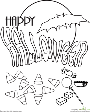 301x375 Halloween Coloring Pages Happy Colouring To Tiny Draw Page