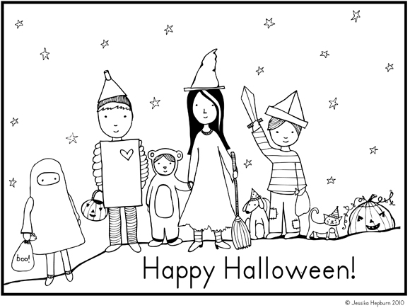 Happy Halloween Drawing At GetDrawings