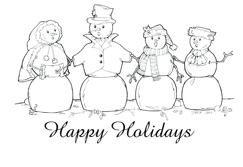 1024x704 Elegant High Quality Coloring Pages Kids Happy Holidays Page Wild