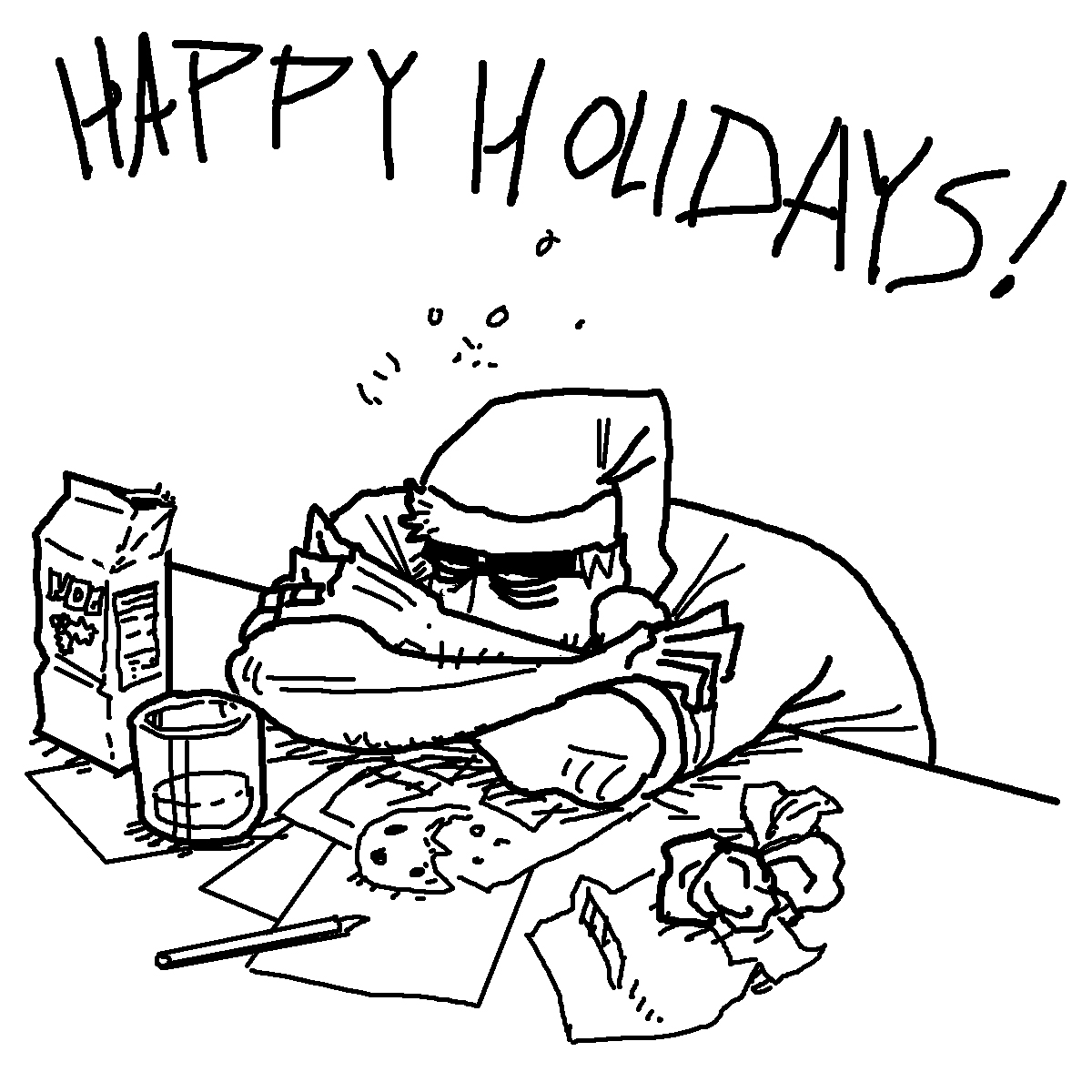 1200x1200 Happy Holidays! Blackmarch