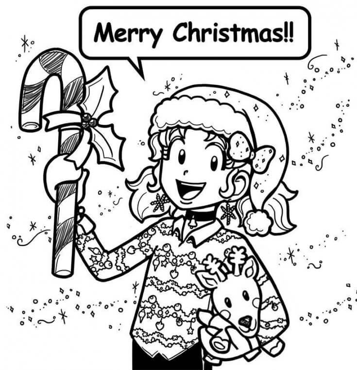 735x762 Merry Christmas, Happy Holidays, And Happy New Year! Dork Diaries