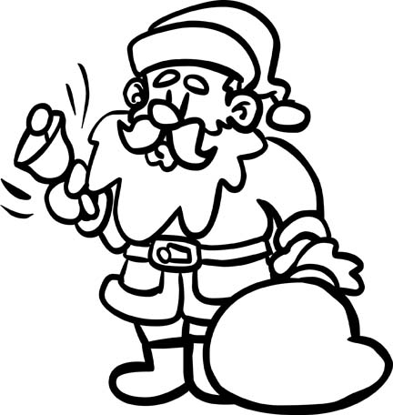 432x456 Christmas Coloring Pages For Happy Holidays