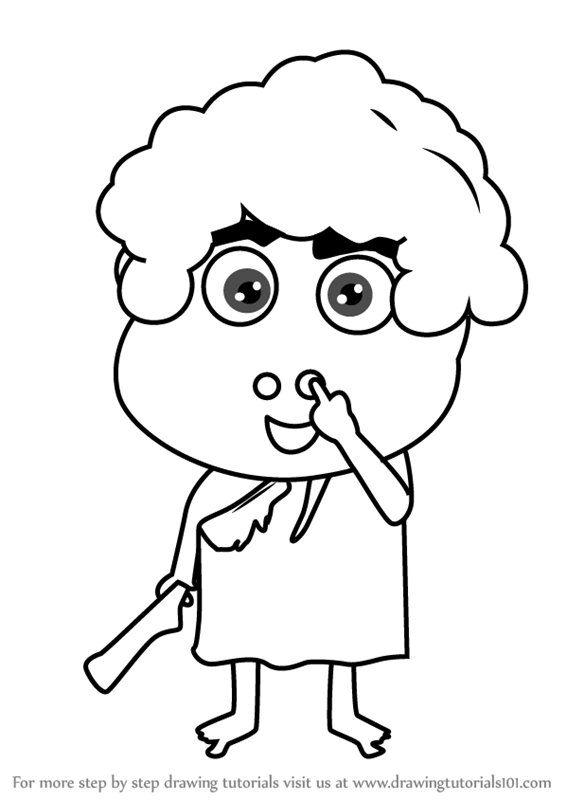 566x800 Learn How To Draw A Happy Kid (Cartoons For Kids) Step By Step