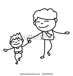 236x246 Drawing Cartoon Man Walking Forward Drawing