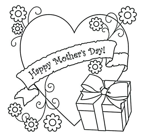 500x471 Happy Mothers Day Malvorlagen Mothers Day Coloring Pages Coloring