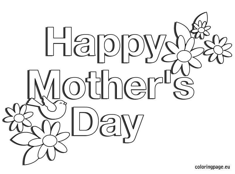 804x595 mother39s day coloring pages