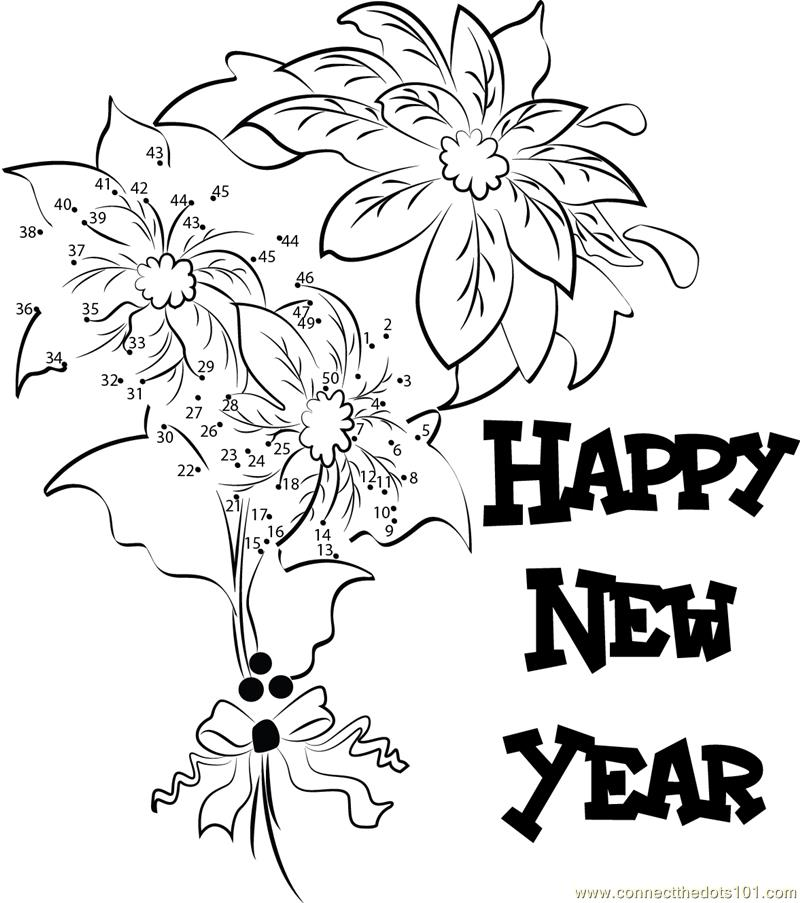 800x903 Drawing On Happy New Year Merry Christmas Amp Happy New Year 2018