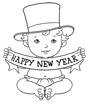 320x365 Happy New Year Simple Amp Easy Activity For Children The Reading Point