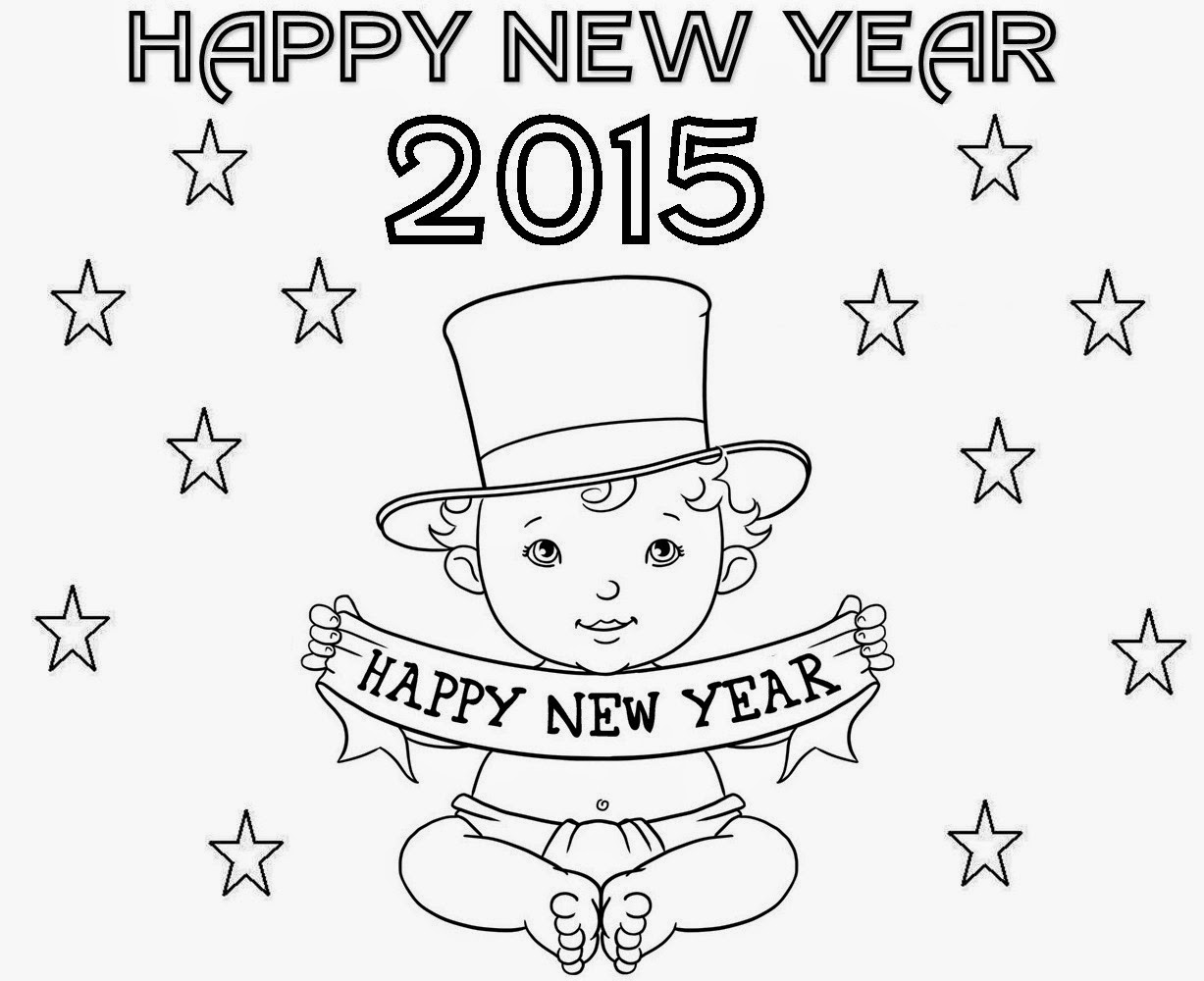 1227x1000 Colour Drawing Free Hd Wallpapers Happy New Year 2015 Coloring