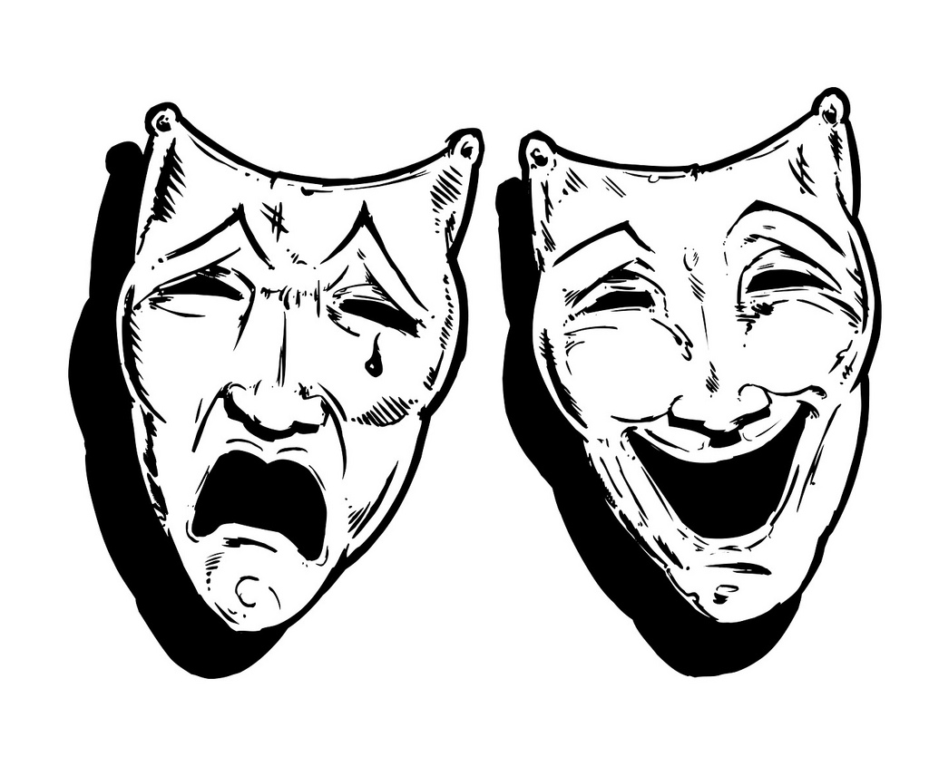 1024x845 Graham Button 3 Theatre Masks Happy And Sad, Laugh And Cry