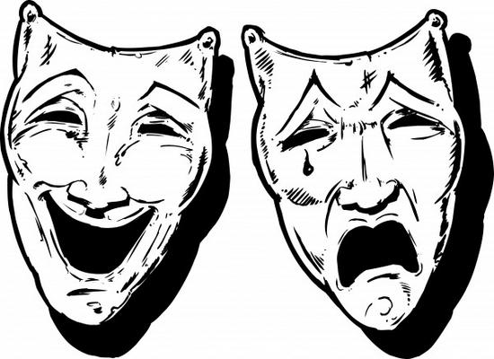 550x400 Greek Theater Masks Sad Happy 00c7ff5d74230fd121e57beccb3659
