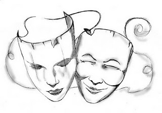 320x224 To Draw The Happy And Sad Theatre Masks For A New Tattoo She Wants