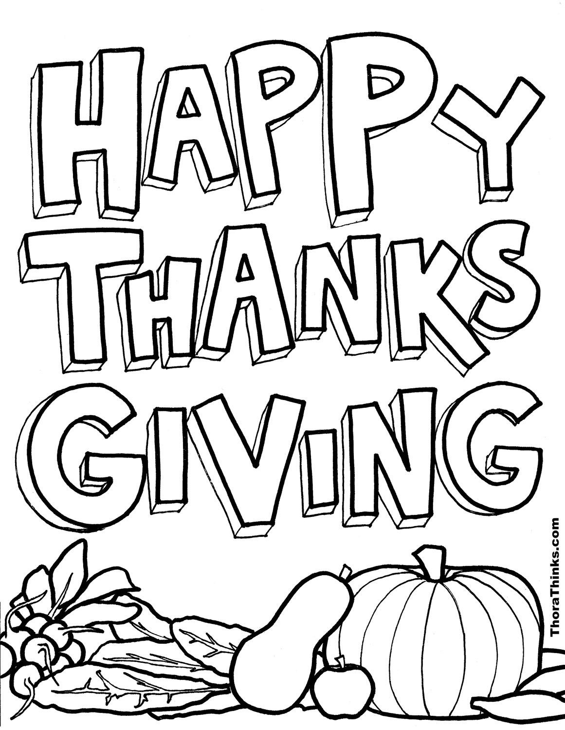 Happy Thanksgiving Drawing