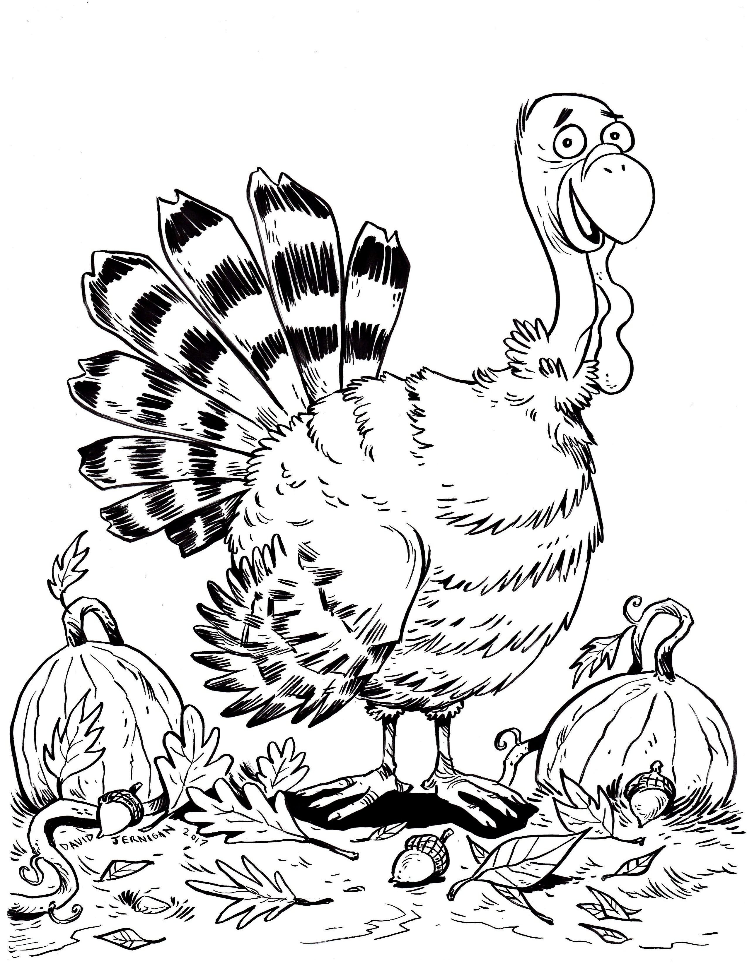 2550x3300 Happy Almost Thanksgiving! Here Is My Turkey Drawing To Honor