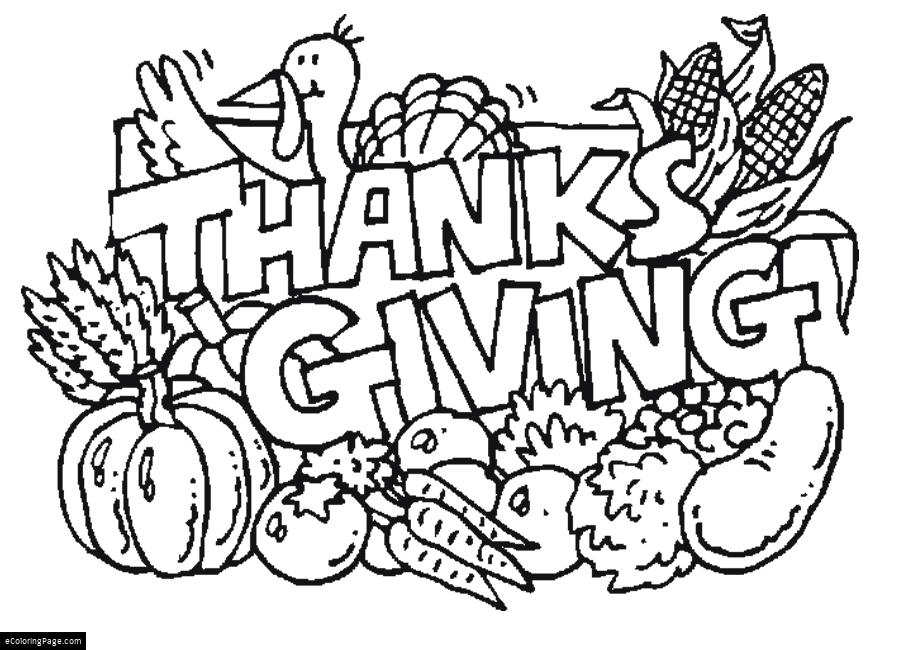 900x650 Thanksgiving Coloring Pages Printable