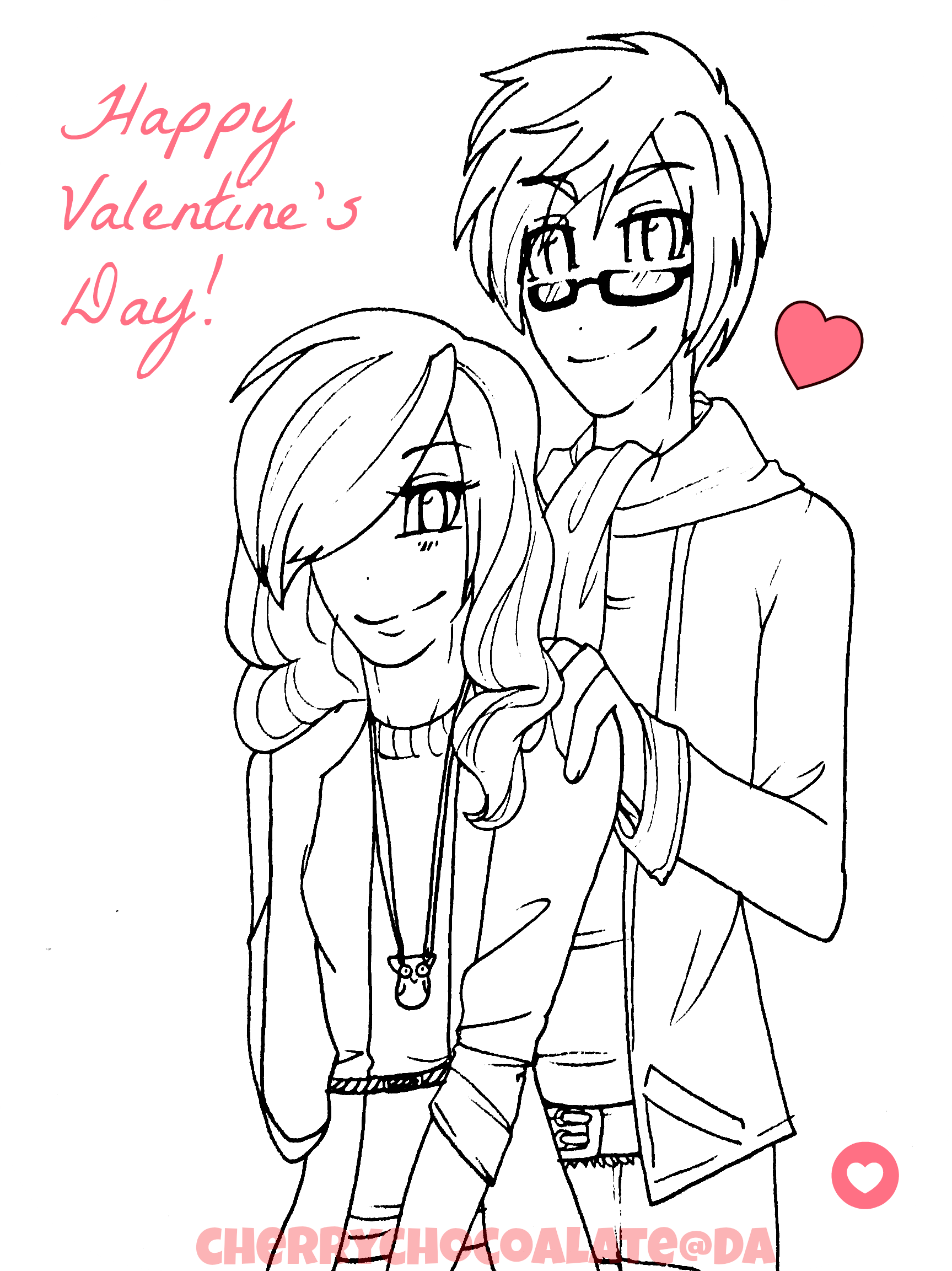 1727x2305 Happy Valentine's Day 2013 By Cherry Chocoalate