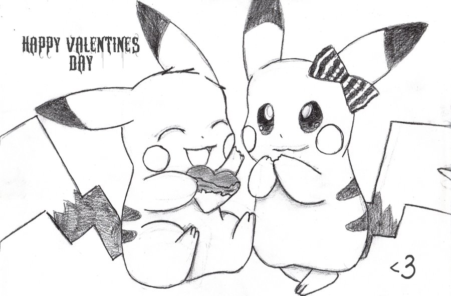 900x592 Happy Valentines Day Pokemon By Kmcdonough424