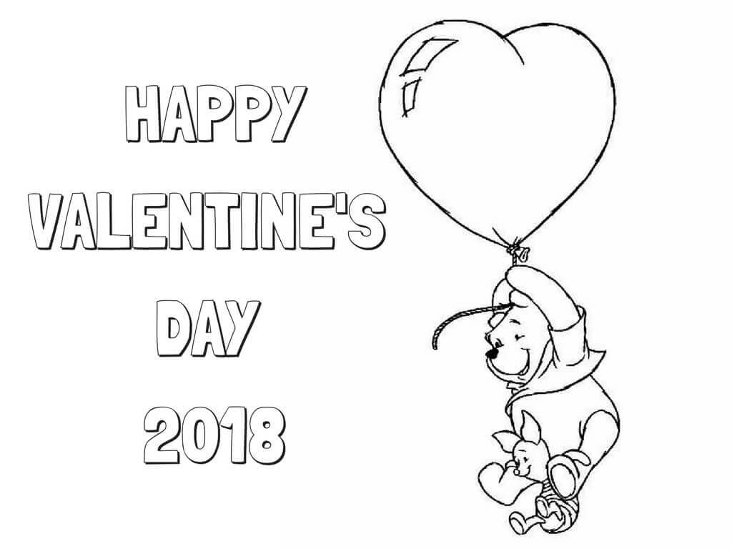 1024x768 Free Printable Valentine's Day Coloring Pages