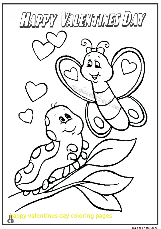 685x975 Happy Valentines Day Coloring Pages With Happy Valentines Day