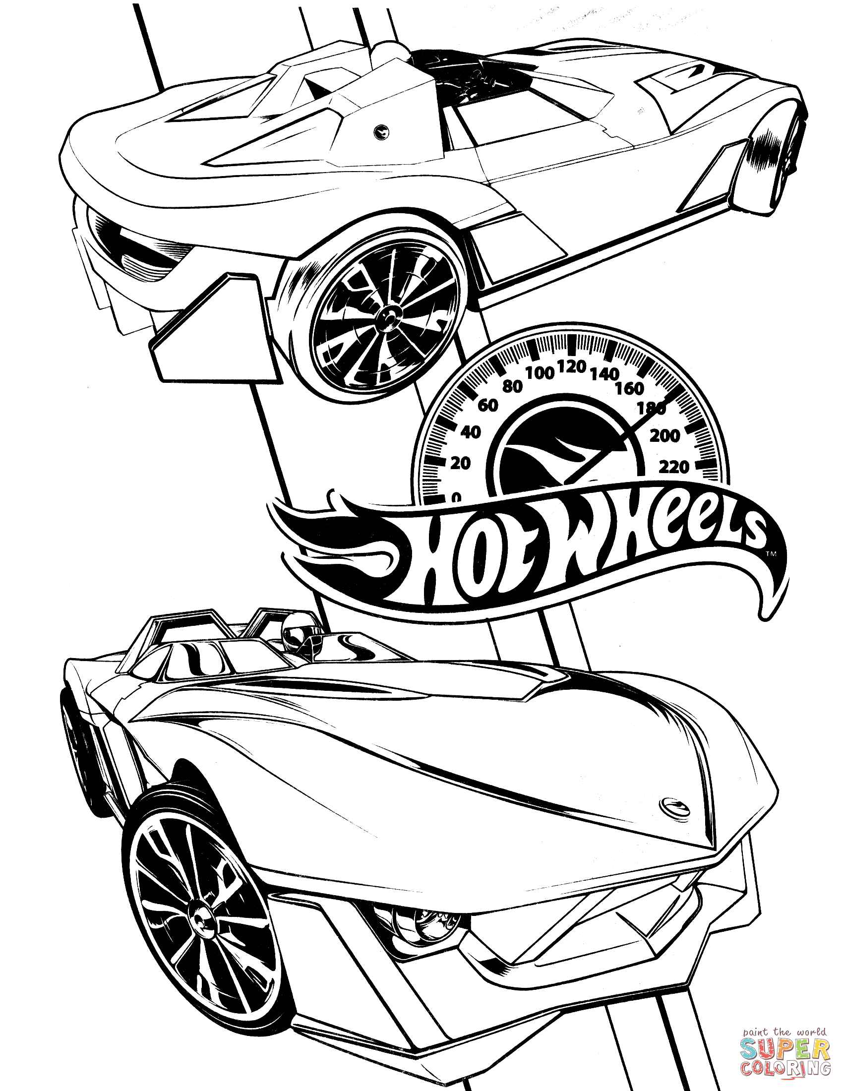 1700x2200 Hot Wheels Hot Rod Coloring Page Free Printable Coloring Pages
