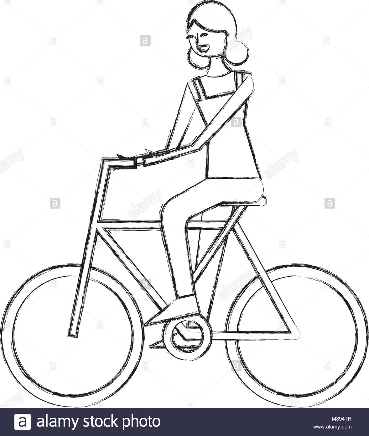 1178x1390 Cycling Bicycle Sketch Stock Photos Amp Cycling Bicycle Sketch Stock