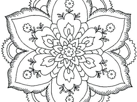 440x330 Coloring Pages That Are Hard Kids Coloring Page Hard Coloring