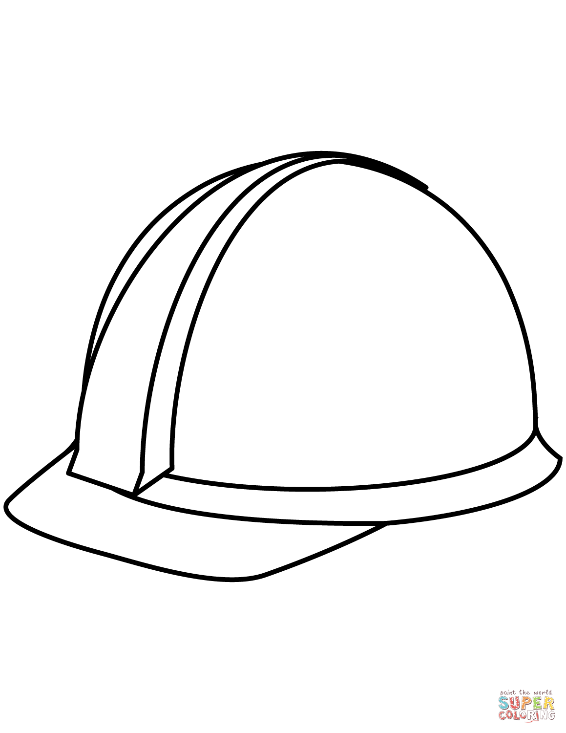1159x1500 Hard Hat Coloring Page Free Printable Coloring Pages