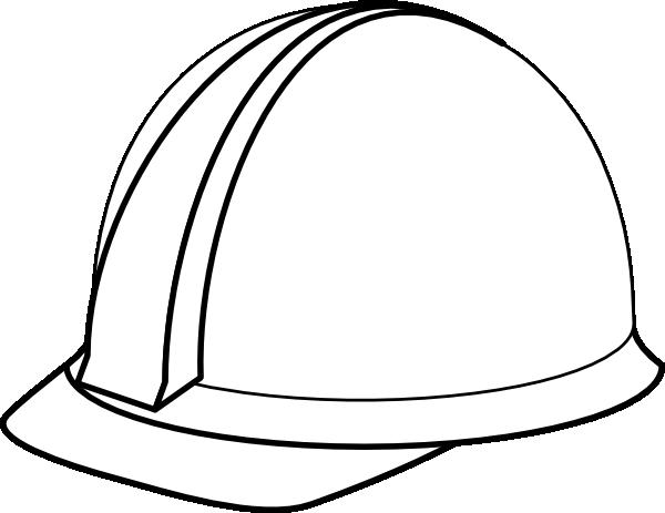 600x463 White Hard Hat No Shadow Clip Art