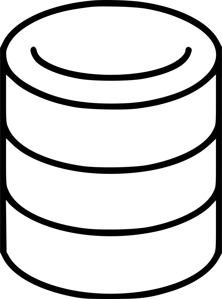 730x980 Computer Server Hardware Storage Archive Data Disk Svg Png Icon