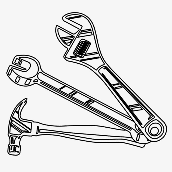 650x651 Stick Figure Hardware Tools, Line Drawings, Tool, Hardware Png