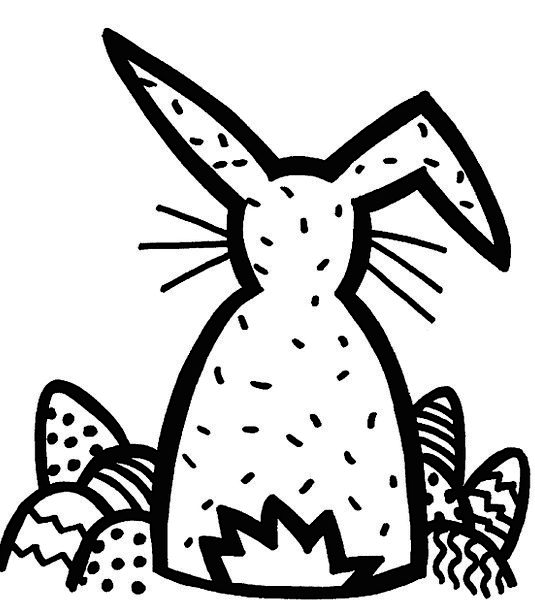 535x609 Drawing, Sketch, Explicit, Hare, Graphic, Easter Bunny, Easter