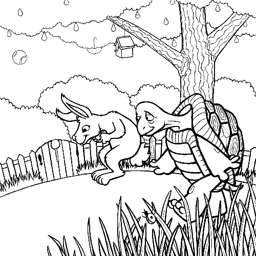 500x500 The Tortoise And The Hare Work In Progress Finished Lines