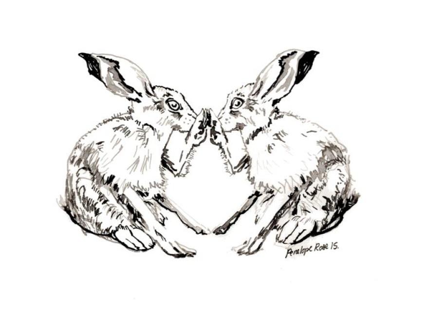 871x640 Bilateral Animal Prints