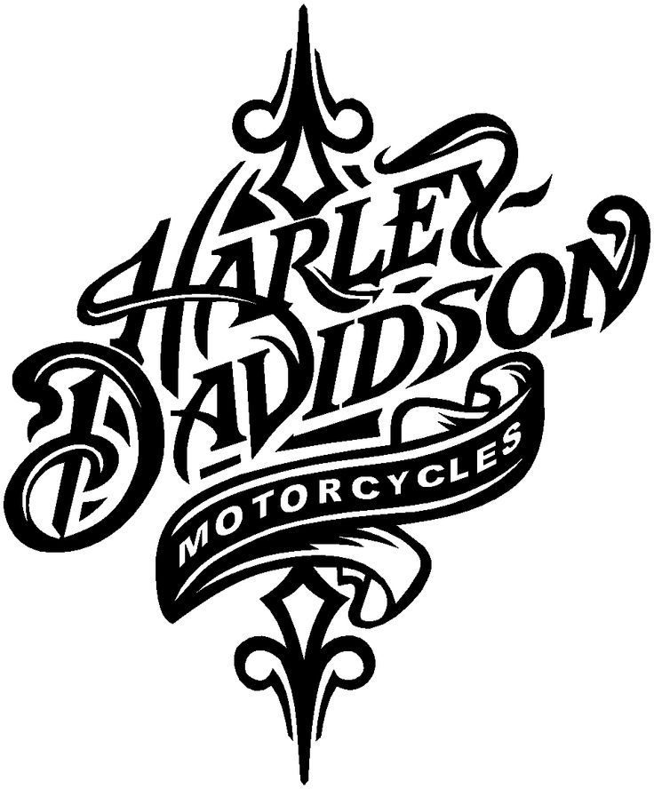 Harley Davidson Logo Drawing At GetDrawings
