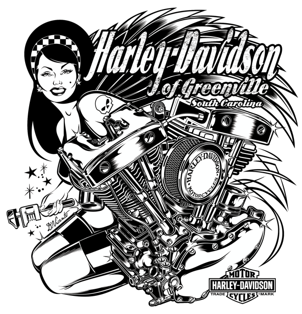 graphic about Printable Harley Davidson Logo named The suitable absolutely free Harley davidson drawing shots. Obtain against
