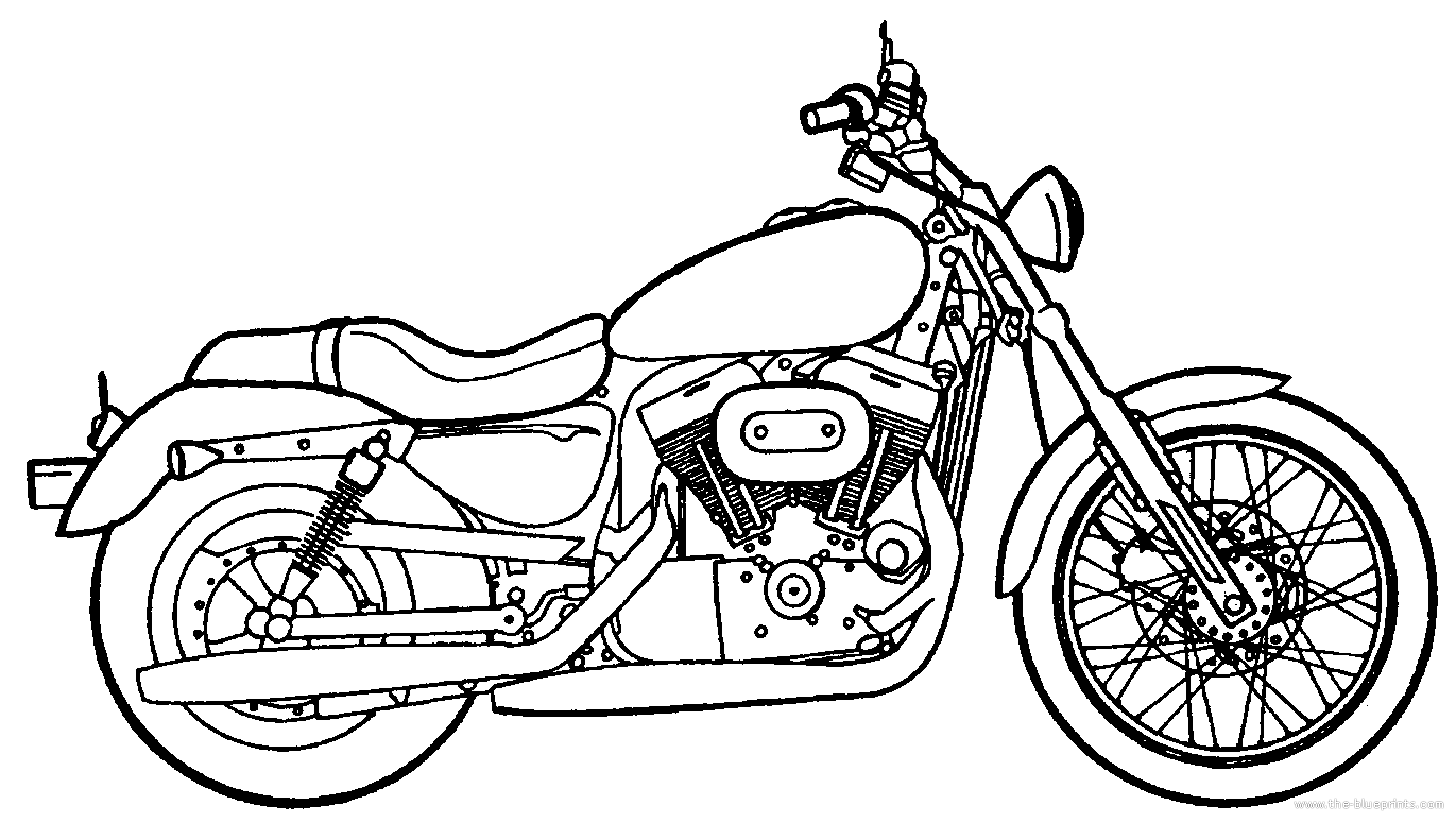 harley davidson drawing at getdrawings com
