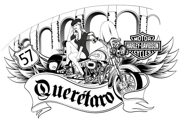 600x402 Harley Davidson Queretaro On Behance