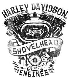 236x274 Hd Shovelheads Tee Arm Logo Arms, Harley Davidson